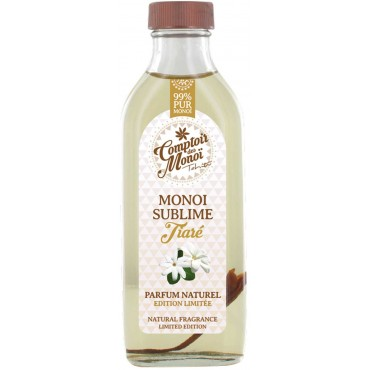 Monoi Sublime Tiaré naturel -  Comptoir des Monoi - 100 mL