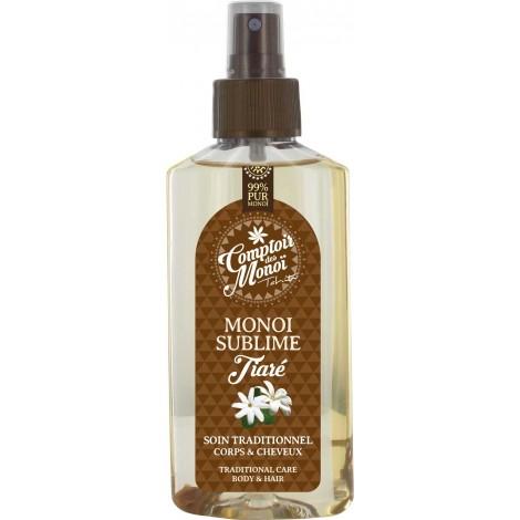 Tiare Sublime Monoi Spray 99%- Comptoir des Monoi
