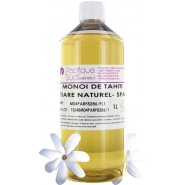 Monoï de Tahiti A.O Parfum Tiaré Naturel - 1L