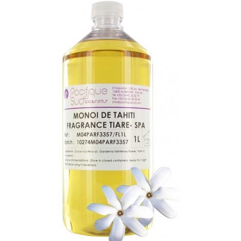 Monoï de Tahiti A.O Parfum Tiaré -1L