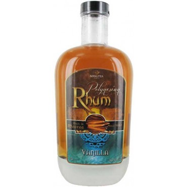 Rhum Vanille 40° - Manutea