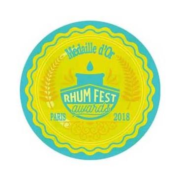 Rhum Pur Jus De Canne Blanc - 50% - Médaille d'Or Paris 2018