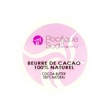 Beurre de Cacao 100% Naturel